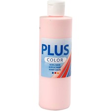 Plus Color-askartelumaali, 250 ml, soft pink