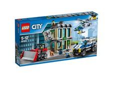 Inbrott med bulldozer, LEGO City Police (60140)