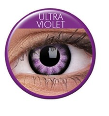 Färgade linser big eyes ultra violet