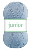 Junior 50g Akrylmix Ljus denimblå (67029)