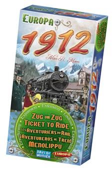 Ticket To Ride, Europa 1912 Expansion, Familjespel