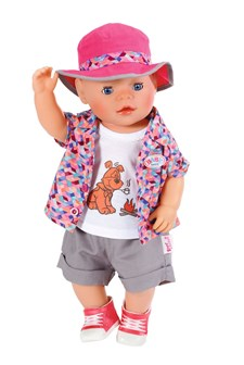 Baby Born Play&Fun Retkeilyvaatteet