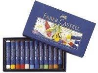 Kritor Oljepastell Faber Castell 12 Färger