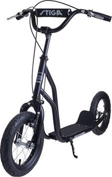 Stiga Air Scooter sparkesykkel, svart