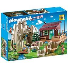 Bergsklättrare med stuga, Playmobil Action (9126)