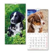 Väggkalender 2019 Burde Liten Hundkalender
