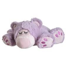 Sömnbjörn 33 cm, Lila, Warmies Beddy Bears