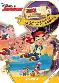 Jake och Piraterna - Räddar Landet Ingenstans (volym 4)