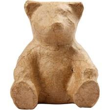 Bjørn, H: 8 cm, 1 stk.