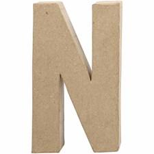 Bokstäver av Papier-Maché N 20,5 cm 1 st