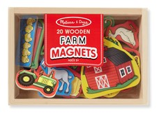 Wooden Farm Magnets, Melissa & Doug
