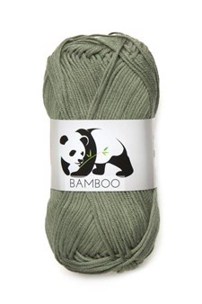Viking of Norway Bamboo Garn Bomullsmix 50g Grön 634