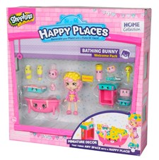 Shopkins Welcome Pack, Bathing Bunny, Happy Places