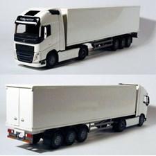 Volvo FH/750 hvit semitrailer, EMEK