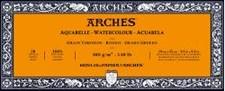 Arches grove blokker akvareller 300g 10x25 cm 20 ark limt på 4 sider