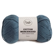 Adlibris Cotton Mercerized 100g Denim A306