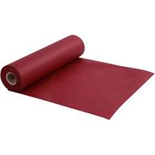 Kaitaliina kangasjäljitelmää, lev. 35 cm, 70 g/m2, 10 m, viininpunainen