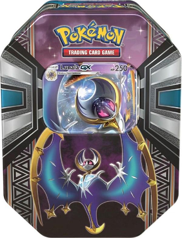 Poke Tin Box 2017 Spring, Legends of Alola, Lunala, Pokémon