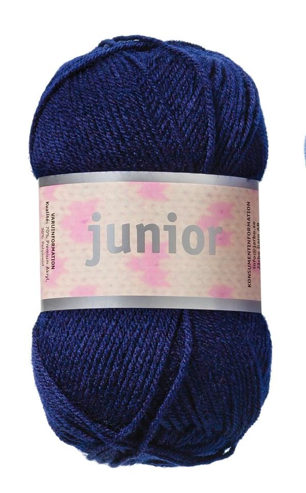 Junior Garn Akrylmix 50g Marin (67017)