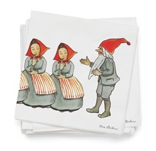 Servietter, Elsa Beskow, Familien Jul, 20-pack, Design House Stockholm