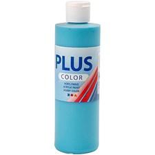Plus Color-askartelumaali, 250 ml, turkoosi