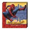 Spiderman Homecoming Servetter, 20 st
