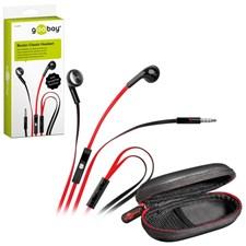 Hodetelefoner in-ears med handsfree funksjon
