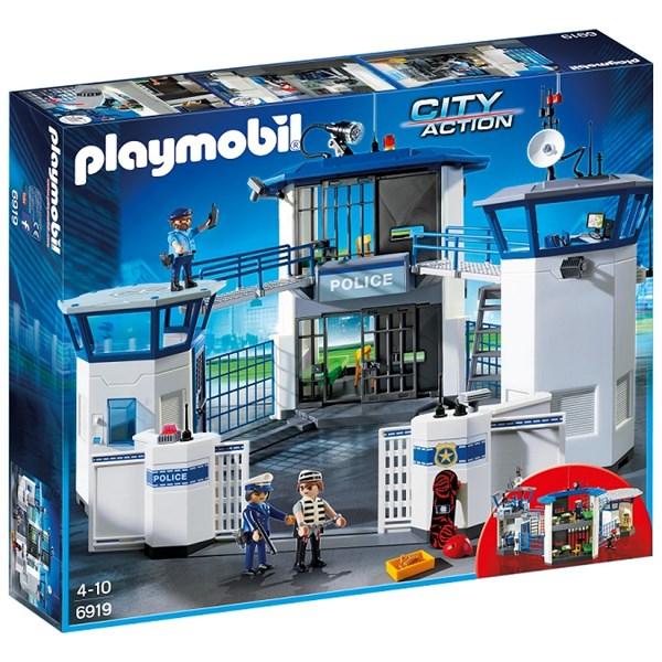 Polishus med fängelse  Playmobil City Action (6919) - playmobil