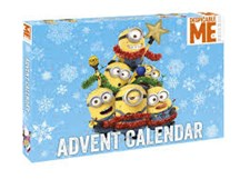 Adventskalender 2017, Accessoarer och Figurer, Minions