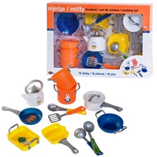 Köksutrustning i 12 delar, Miffy