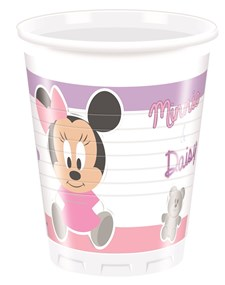 Mimmi Pigg Baby Plastmuggar, 8 st