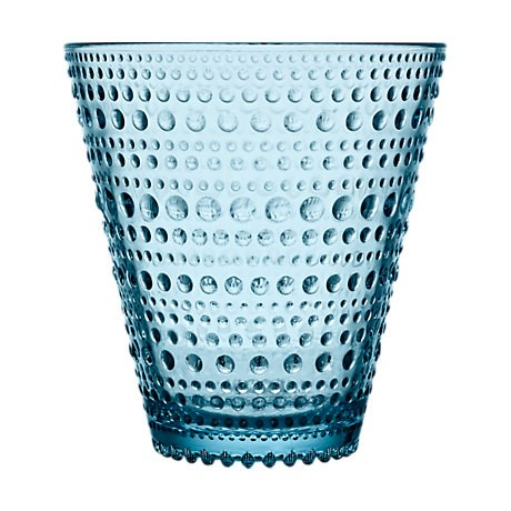 Iittala Kastehelmi Dricksglas 2-pack 30 cl Ljusblå - glas