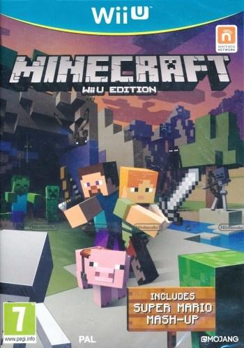 Minecraft - WiiU Edition (includes Super Mario - Mash Up)  Wendros