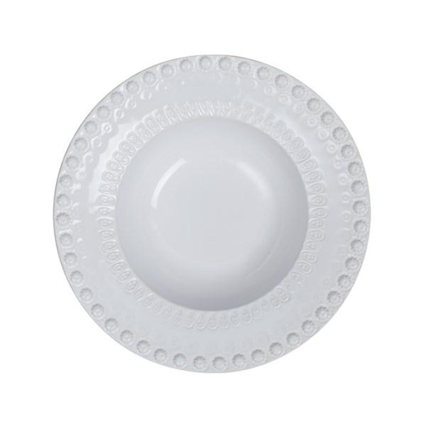 PotteryJo Daisy Djup Tallrik 21 cm Vit - tallrikar & skålar
