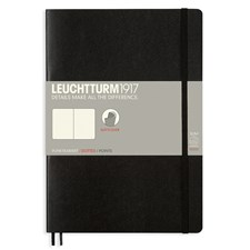 LT NOTEBOOK B5 Softcover black 121 p. dotted