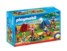 Campingtält med lägereld, Playmobil Summer Fun (6888)