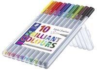 Fineliner STAEDTLER triplus 10 väriä