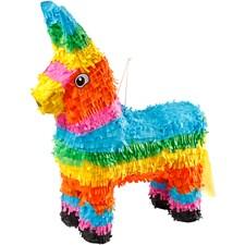 Piñata , str. 39x13x55 cm, sterke farger, 1stk.