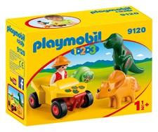 Upptäckare Med Dinosaurier, Playmobil 1.2.3 (9120)