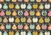 Bomullstyg Äpplen och Päron 50x160 cm