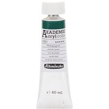 Schmincke AKADEMIE® Akrylmaling, 60 ml, phthalo green (551)