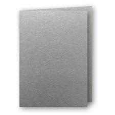 Kort Doble Papperix A5 Sølv 5-pk