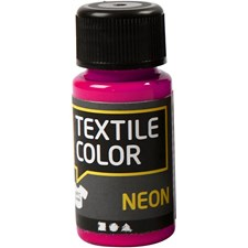 Textile Color Neon, 50 ml, neonpinkki