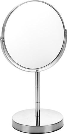 Spegel 2 sidor metallstativ