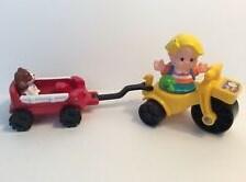 Trehjulssykkel og vogn, Fisher-Price