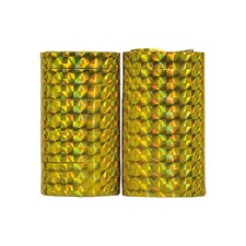 Serpentiner Holografiske Gull 2-pakning