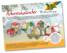 "Adventskalender ""Christmas train"" 60 delar"