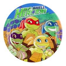 Ninja Turtles Half Shell Heroes, Tallerkener, 8 stk.