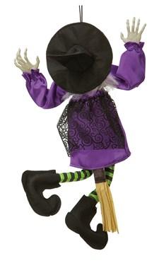 Sparkande Häxa Halloweendekoration