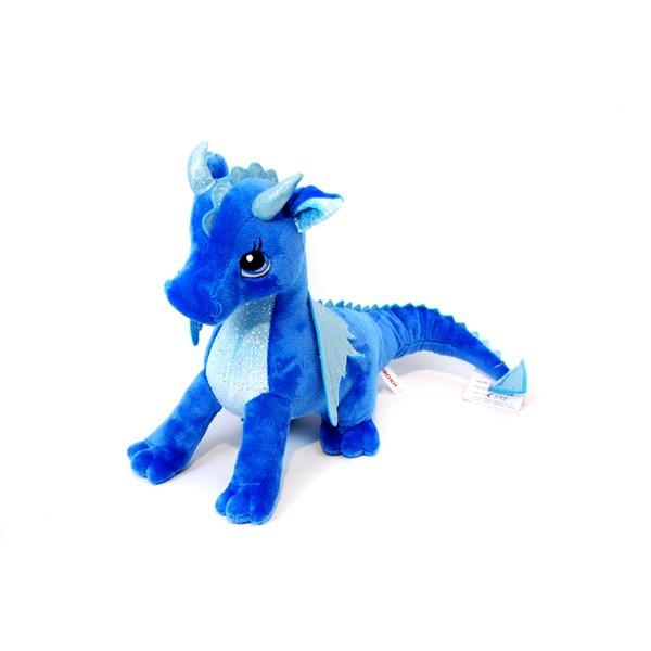 Drake  Blå  Aurora - gosedjur